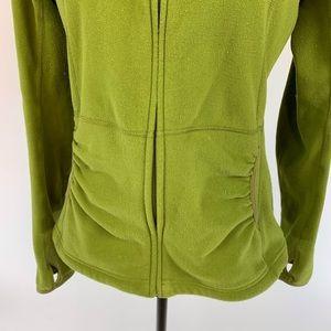 The North Face Jackets & Coats - NORTH FACE Green TKA 100 Fleece Jacket Thumb Hole